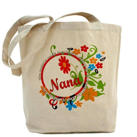 Cotton tote bag no gusset with bottom