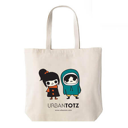 Cotton tote bags personalized