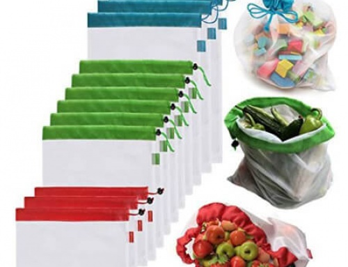 Eco Friendly bags for fruit, vegetable, toys