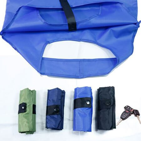 Reusable nylon polyester bag for grocery