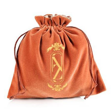 Velvet jewelry gift drawstring bag